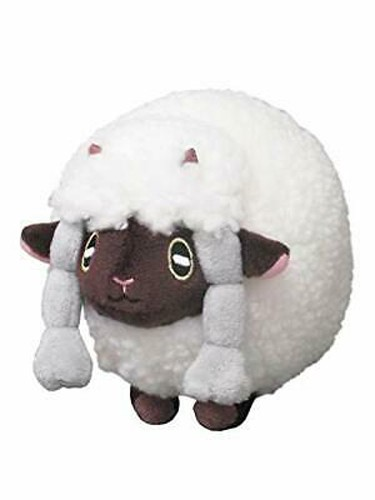 Pokemon Sword and Shield 6'' Wooloo Sanei Import Plush