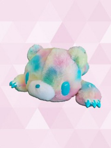 Gloomy Bear 12'' Blue Fantasy Fur Belly Flop Ver. Taito Plush