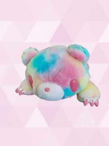 Gloomy Bear 12'' Pink Fantasy Fur Belly Flop Ver. Taito Plush