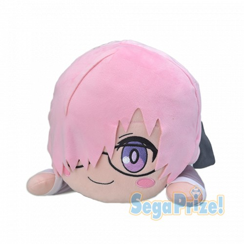 Fate Grand Order Babylonia 15'' Mash Glasses Ver. Nesoberi Plush