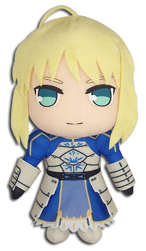 Fate Stay Night 8'' Saber Plush Doll