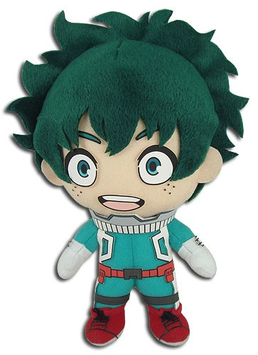 My Hero Academia 8'' Midroiya Izuku Deku Hero Ver. Plush Doll