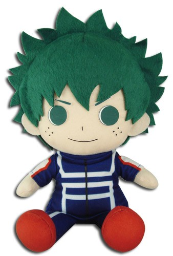 My Hero Academia 8'' Midoriya Izuku Deku Sitting Training Ver. Plush Doll