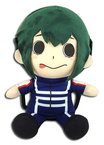 My Hero Academia 8'' Tsuyu Asui Training Outfit Sitting Plush Doll