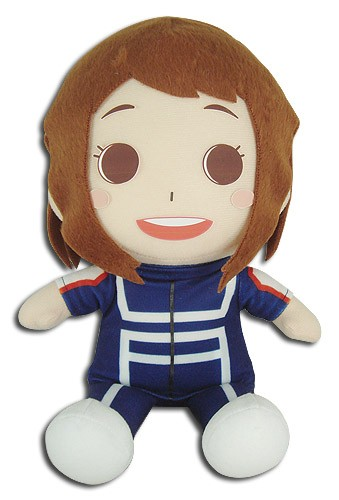 My Hero Academia 8'' Uraraka Ochaco Sitting Training Ver. Plush Doll