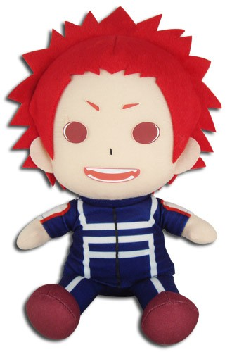 My Hero Academia 8'' Kirishima Eijiro Sitting Training Ver. Plush Doll