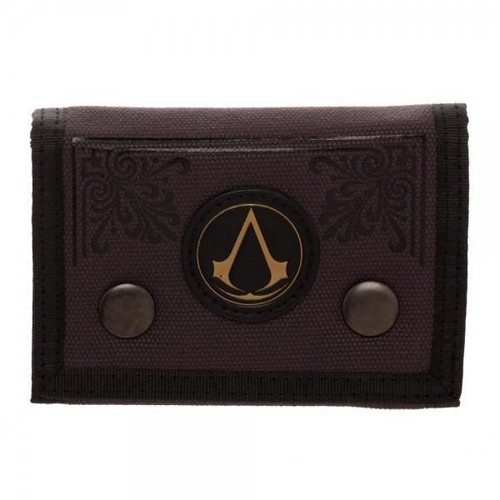 Assassin's Creed Logo Fabric Trifold Wallet