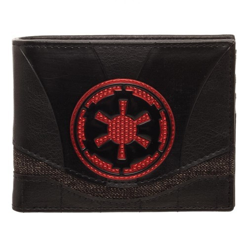 Star Wars Empire Chrome Weld Patch Bifold Wallet