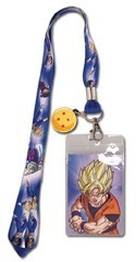 Dragonball Z Super Saiyan Group Lanyard