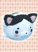 Cat Fish 12'' Black and White Plush