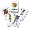 Gundam 00 Poker Cards