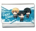Attack on Titan Cadet Corps Chibi Trifold White Wallet