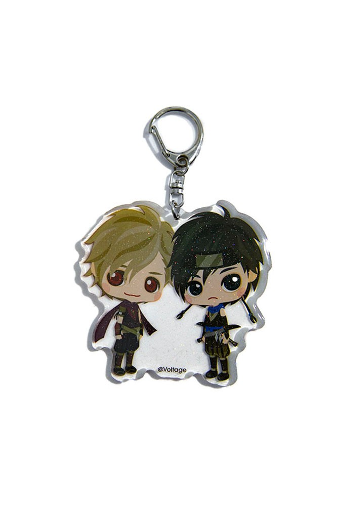 Samurai Love Ballad PARTY Sakuya and Genya Acrylic Key Chain Voltage Exclusive