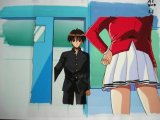 First Kiss Story Cel