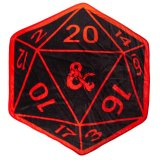 Dungeons and Dragons D20 Fleece Throw Blanket