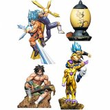 **Shipping Soon**  Dragonball Z Super 3'' Dracap Re Birth Super Power Ver. Megahouse Trading Figure Set of 4
