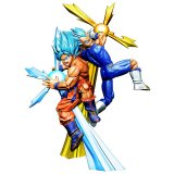 **Shipping Soon**  Dragonball Z Super 3'' SSGSS Goku and Vegeta Dracap Re Birth Super Power Ver. Megahouse Trading Figure