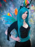 Changeling Queen Teal Wig - Designed By Yaya Han