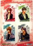 La Corda D'Oro 4 Plastic Bookmark Set A