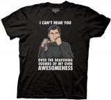 Archer I Can't Hear You Black Men's T-Shirt