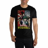 My Hero Academia Black Dark Group Men's T-Shirt