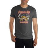 Aggretsuko No Overtime Gray Men's T-Shirt