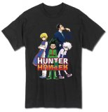 Hunter X Hunter Group Key Art Black Men's T-Shirt
