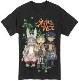 Made in Abyss Group Men's Black T-Shirt
