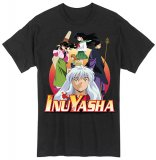 Inu Yasha Group Men's Black T-Shirt