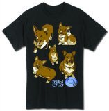 Cowboy Bebop Ein Men's Black T-Shirt
