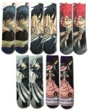 Black Butler Socks 5 Pair Set