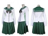 High School of the Dead School Uniform Longer Skirt Costume