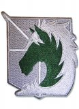 Attack on Titan 4 inch Military Police Embroidered Patch