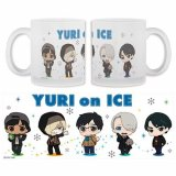 Yuri on Ice Group Frosted Glass Coffee Mug Cup