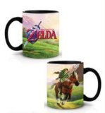 Zelda Link on a Horse Coffee Mug Cup