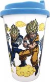 Dragonball Z Goku Group Coffee Mug Cup with Lid
