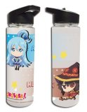 Konosuba Aqua and Megumin Tritan Water Bottle