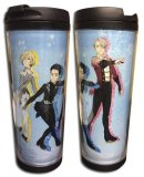 Yuri On Ice Skating Group Tumbler Coffee Mug Cup