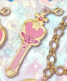 Sailor Moon Pink Moon Stick Fastener Accessory