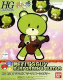 Gundam Build Fighters Try Petit G'Guy Surfgreen and Guitar 1/144 High Grade Model Kit Figure