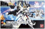 Gundam Build Fighters Lunagazer Gundam Lady Kawaguchi's Mobile Suit High Grade 1/144 Scale Model Kit Figure