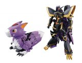 Digimon Metal 6'' Alphamon Digivolving Spirits # 05 Bandai Action Figure