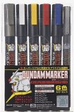 Gundam Marker Basic Set of 6 Markers