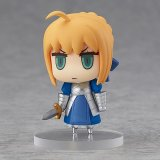 Fate Grand Order 2'' Saber Altria Pendragon Learning with Manga Trading Figure