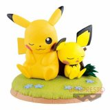 Pokemon 6'' Pikachu and Pichu Banpresto Prize Figure