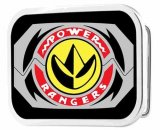 Power Rangers Tyrannasaurus Rex Morpher Chrome Rock Star Belt Buckle