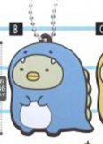 Sumikko Gurashi Penguin? Rubber Luggage Tag Key Chain