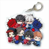 Hypnosis Mic Mad Trigger Crew and Buster Bros!!! Group Acrylic Key Chain