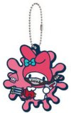 Splatoon X Sanrio My Melody Rubber Key Chain