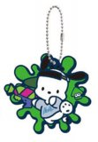 Splatoon X Sanrio Pochacco Rubber Key Chain
